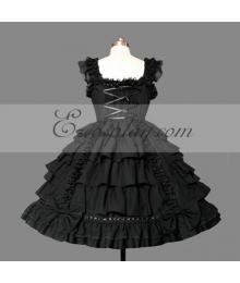 Black Gothic Lolita Dress -LTFS0098