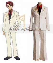 Battler Cosplay Costume from Umineko no Naku Koro ni