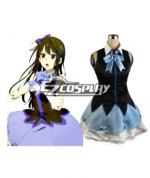 Beyond the Boundary Kyokai no Kanata Mitsuki Nase Cosplay Costume Dance Dress