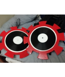 Dave Strider's Time Tables One Pair Cosplay Weapon Prop