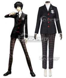 Persona 5 Akira Kurusu School Uniform Cosplay Costume