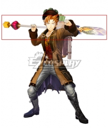 Atelier Sophie: The Alchemist of the Mysterious Book Oskar Behlmer A18 Shovel Cosplay Weapon Prop