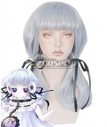 #COMPASS Kokurikotto Buranshu  Silver Cosplay Wig