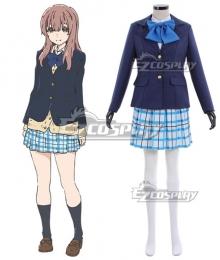 A Silent Voice Koe no Katachi Nishimiya Shouko School Cosplay Costume
