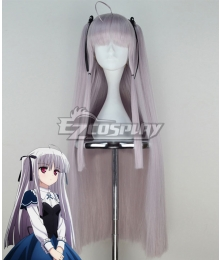 Absolute Duo Julie Sigtuna Gray Cosplay Wig