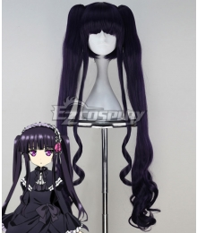 Absolute Duo Sakuya Tsukumo Purple Cosplay Wig
