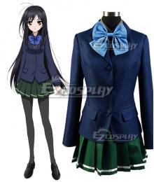 Accel World Kuroyukihime School Cosplay Costume