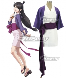 Ace Attorney Gyakuten Saiban Maya Fey Cosplay Costume