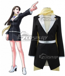 Ace Attorney Season 2 Mia Fey Cosplay Costume
