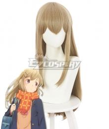 Adachi and Shimamura Shimamura Hougetsu Brown Cosplay Wig
