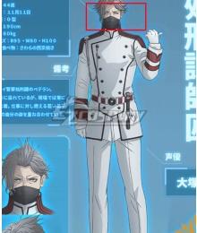 Akudama Drive Execution Division Master Grey Cosplay Wig