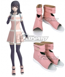 Akudama Drive Ordinary Person Pink Cosplay Shoes