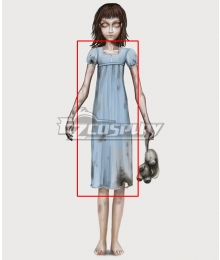Alice: Asylum Alice Real Actual Hospital Outfit Dress Cosplay Costume