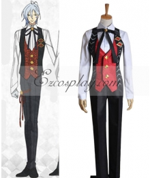 AMNESIA Ikki Working Uniform Cosplay Costume