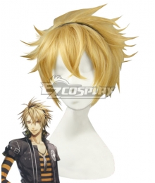 AMNESIA Toma Golden Cosplay Wig