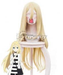 Angels Of Death Satsuriku No Tenshi Ray Rachel Gardner Yellow Cosplay Wig 461G