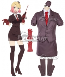 Angels of Death Satsuriku no Tenshi Cathy Catherine Ward Cosplay Costume