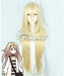 Angels Of Death Satsuriku No Tenshi Ray Rachel Gardner Golden Cosplay Wig