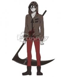 Angels Of Death Satsuriku No Tenshi Zack Scythe Cosplay Weapon Prop - A Edition