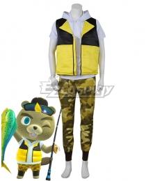 Animal Crossing: New Horizon C.J. Justin Cosplay Costume