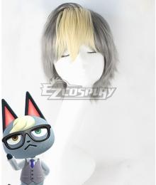 Animal Crossing: New Horizon Raymond Gloden Gray Cosplay Wig
