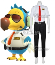 Animal Crossing: New Horizon Wilbur Dodo Bird Orville Cosplay Costume