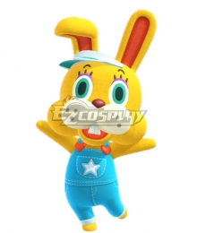 Animal Crossing: New Horizon Zipper T. Bunny Cosplay Costume