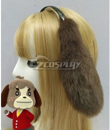 Animal Crossing: New Horizons Digby Ear headband Cosplay Accessory Prop