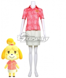 Animal Crossing: New Horizons Isabelle Cosplay Costume