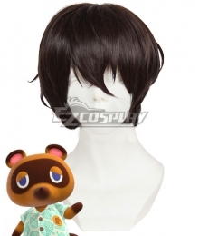 Animal Crossing: New Horizons Tom Nook Brown Cosplay Wig