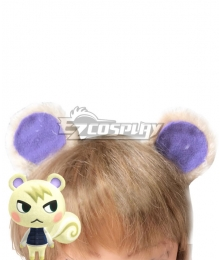 Animal Crossing: New Horrizon Marshal Ears Cosplay Accessory Prop