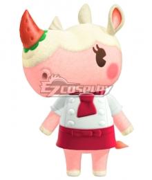 Animal Crossing: New Horrizon Merengue Rhino Cosplay Costume