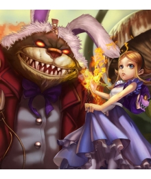League of Legends Annie In Wonderland Skin Cosplay Costume