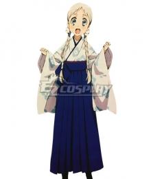 Anohana: The Flower We Saw That Day Honma Meiko Kimono Cosplay Costume