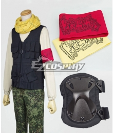 Aoharu x Machinegun Aoharu x Kikanjuu Tooru Yukimura Toy ☆ Gun Gun Team Uniform Cosplay Costume
