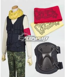 Aoharu x Machinegun Aoharu x Kikanjuu Tooru Yukimura Toy ☆ Gun Gun Team Uniform Cosplay Costume