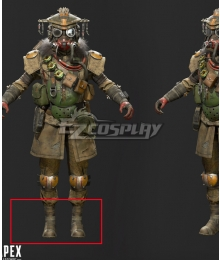 Apex legends Bloodhound Brown Shoes Cosplay Boots