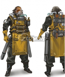 Apex legends Caustic Cosplay Cosutme