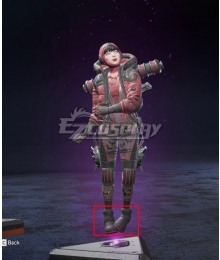 Apex legends Wattson Winged Menace Black Cosplay Shoes