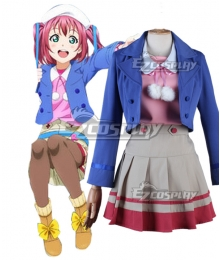 Lovelive! Love Live!! Sunshine Aqours Ruby Kurosawa Cosplay Costume