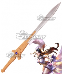 Arena Of Valor Honor of Kings Luna Zixia Fairy Sword Cosplay Weapon Prop