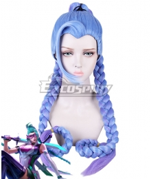 Arena of Valor Krixi Airi Racer Blue Cosplay Wig
