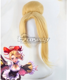 Arena of Valor Krixi Maid Golden Cosplay Wig