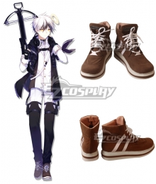Arknights Adnachiel Brown Cosplay Shoes