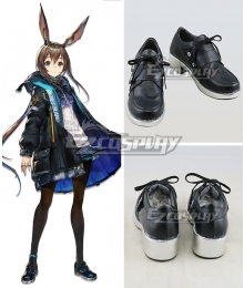 Arknights Amiya Black Cosplay Shoes