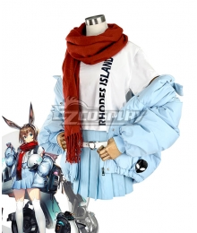 Arknights Amiya Fresh Fastener Cosplay Costume