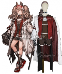 Arknights Angelina Cosplay Costume