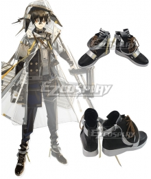 Arknights Ayerscarpe Black Cosplay Shoes