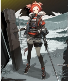Arknights Beagle Drerdnrucht Cosplay Costume