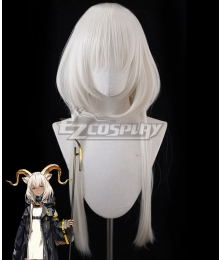 Arknights Beeswax Grey Cosplay Wig
